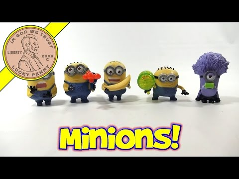 Find these toys: http://www.luckypennyshop.com/collecting-miscellaneous-happy-meal-2013-despicable-me2.htm ** Watch our product feature video for a Purple...