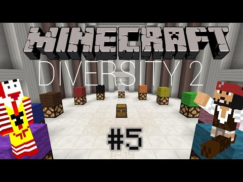 Minecraft Maceraları   Diversity 2 Bölüm 5 : Escape & Dropper