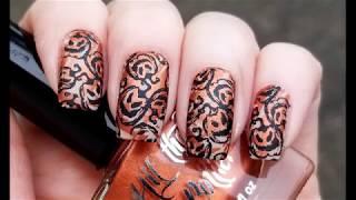 Halloween Nail Art! Easy Nail Stamping Tutorial
