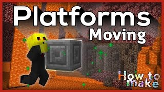 Minecraft: How to make working Moving Platforms!