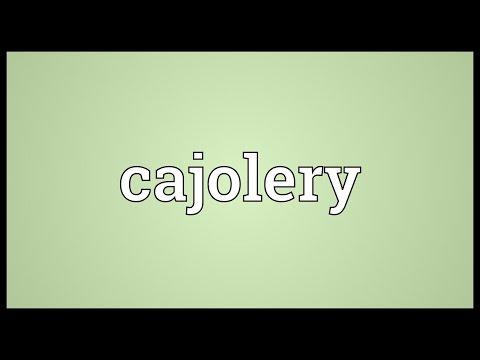 Header of cajolery