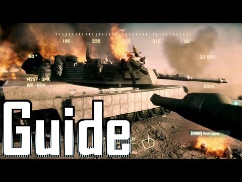 Battlefield 3 ★Tank Guide★[Repair Reactive Armor + How to Kill Tanks]★BF3 Tips/Tricks★ MBT
