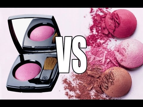 CHANEL BLUSHER VS BOURJOIS BLUSHER!!!!