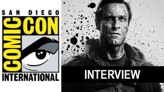 Aaron Eckhart Interview : I Frankenstein 2014 - Beyond The Trailer