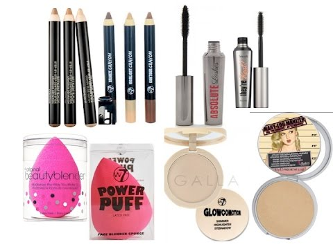 W7 DUPES FOR HIGH END MAKE UP