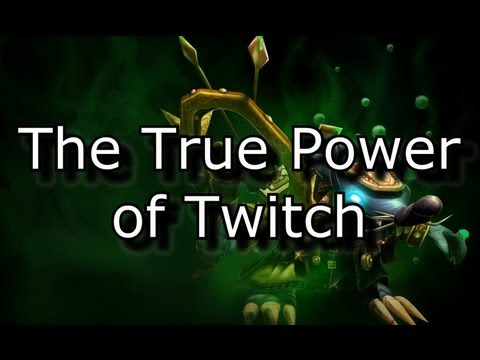 The True Power Of Twitch In Season 3 - Sword Of The Divine Op | League Of Legends Lol video
