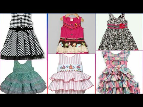 Frock baby frock stylish frock latest design beautiful design Frock different design one idea