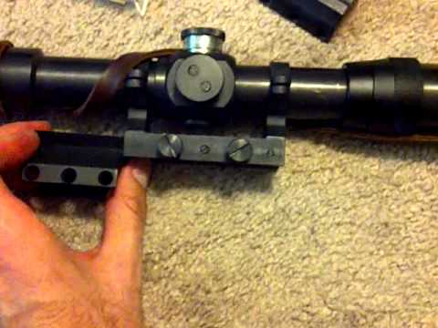 Mosin Nagant PE Sniper Scope and Mount from Accumounts(dot)com