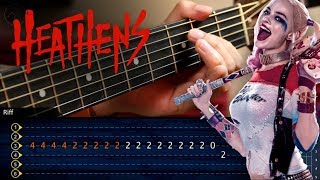 Heathens (Suicide Squad) Twenty One Pilots | Guitar Tutorial TABS | Guitarra Cover Christianvib