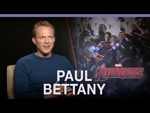 Paul Bettany finally joins The Avengers in the flesh