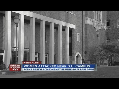 Date rape drug suspected in 2 incidents near DU campus