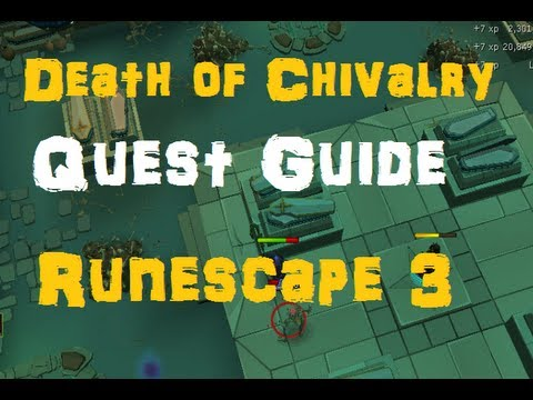 The Death of Chivalry Complete Quest Guide – Runescape 3 – RS3