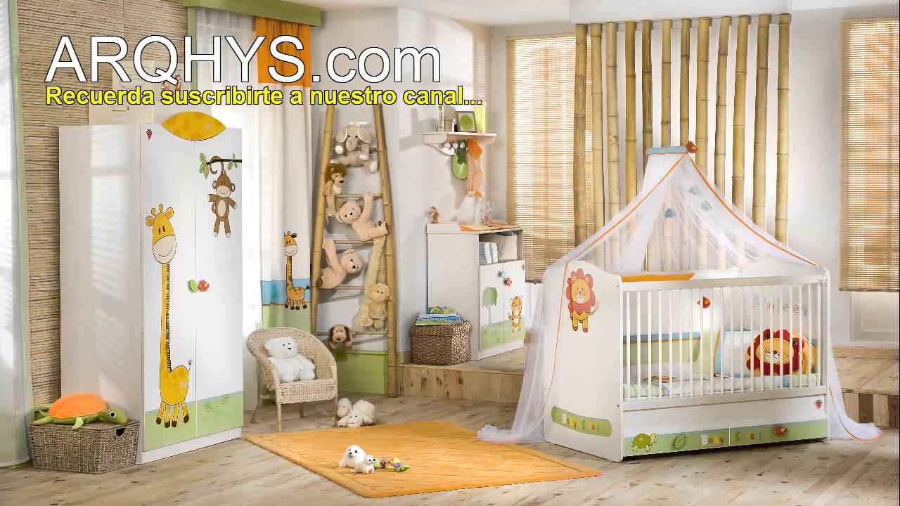 C mo decorar la habitaci n del bebe cuartos y for Cuarto de nino recien nacido