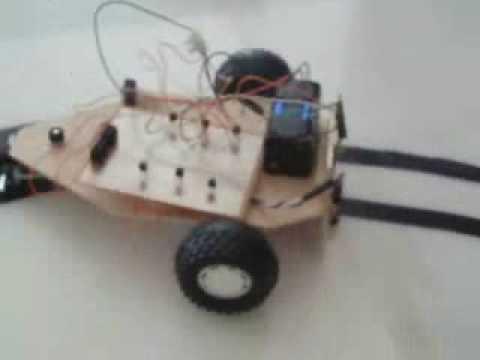 Robot seguidor de líneas - IES José Rodrigo Botet - 4ºESO (Robot suiveur de Ligne)