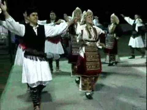 POUSTSENO - Macedonian folk dance from Aegean region Music Videos