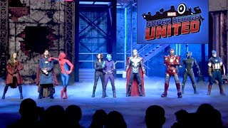Marvel Super Heroes United Full Show with ALL Effects at Disneyland Paris Summer of Super Heroes