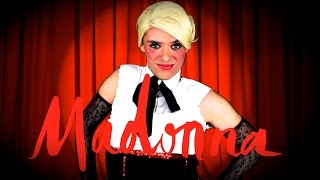 "Madonna Video - Madonna - Living For Love ""PARODY"" (I'm Still The Queen Of Pop) - Vogue Mashup"