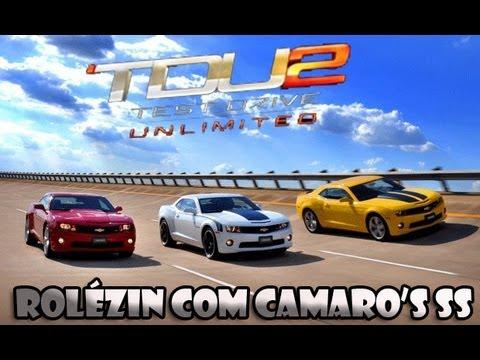 [Comentado]: TDU 2 - Rolézin Com Camaro's SS