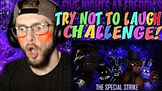 """Vapor Reacts #834   [FNAF SFM] TRY NOT TO LAUGH """"The Special Strike"""" by TheHottest Dog REACTION!!"""