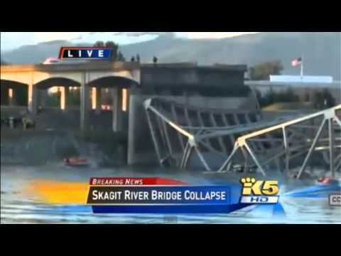 Live Coverage Skagit River Bridge Collapse 2 Remaining People Removed
