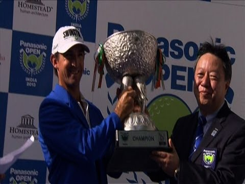 Asian Tour Golf Highlights - Panasonic Open India 2013 (Day 4)
