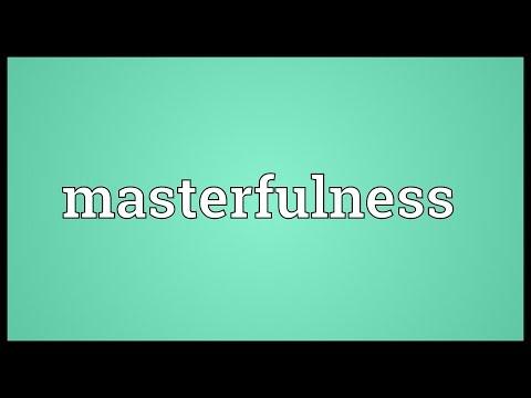 Header of masterfulness