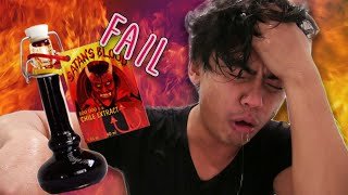 Extreme Sauce Challenge FAIL! | Would You Rather?