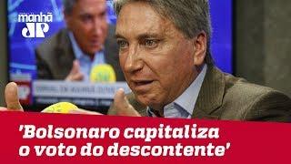 'Bolsonaro capitaliza o voto do descontente, do contrariado', admite vice de Meirelles