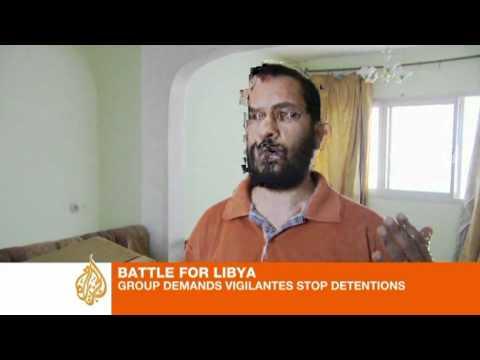Human Rights Watch demand Libyan rebels stop detentions