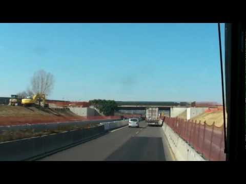 (2012-03-10) Lavori terza corsia autostrada A14 (dal casello di Cattolica al casello di Rimini Nord)