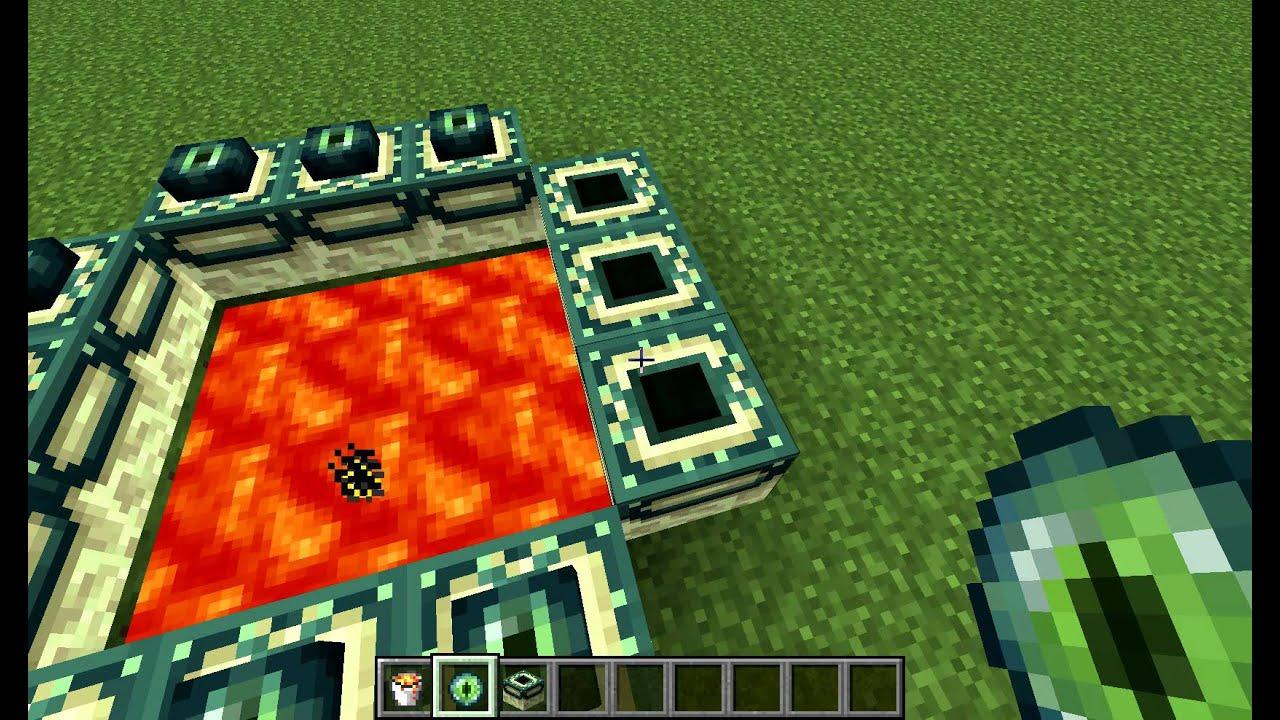 Как в minecraft сделать портал в мире