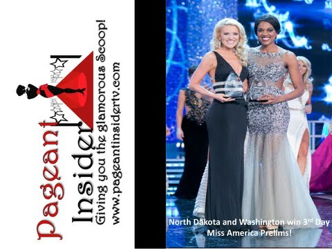 Miss America Announces Winners of 3rd Day Prelims!