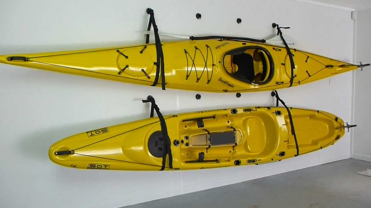 How To Store A Kayak With The Railblaza Starport Wall