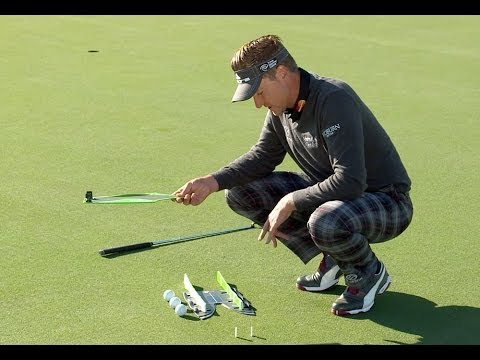 Ian Poulter demonstrates how CS2 Putting Aid improves golfers' game