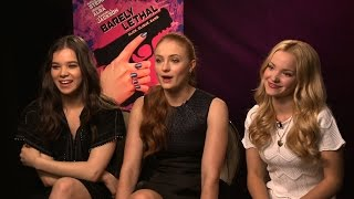 BARELY LETHAL Interviews: Hailee Steinfeld, Sophie Turner, Dove Cameron