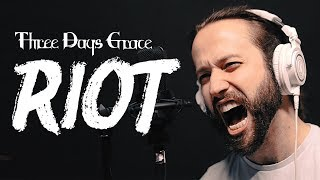 "THREE DAYS GRACE - ""Riot"" Cover by Jonathan Young"