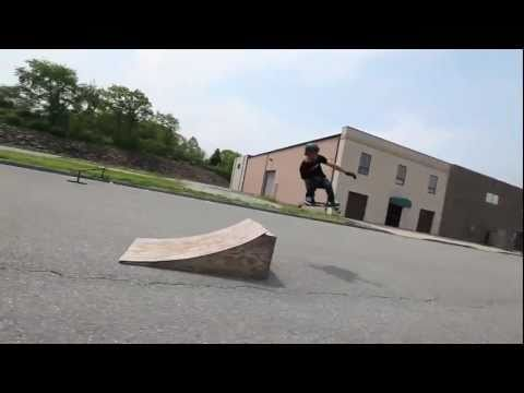 360 early grab on a longboard, Brian Bishop