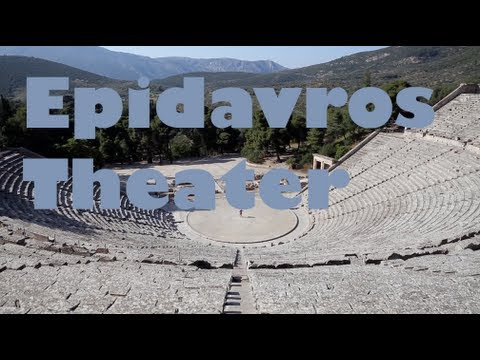Epidavros Theater - Peloponnese, Greece