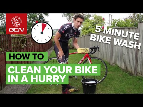 The 5 Minute Bike Wash - How To Clean Your Bike In A Hurry