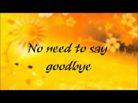 Regina Spektor - No need to say goodbye