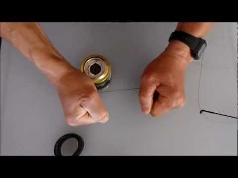 How To Connect Braided (on a spol) to Braided (on a reel)