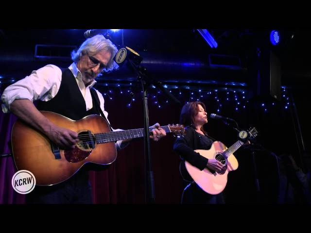 "Rosanne Cash performing ""The Sunken Lands"" Live at KCRW's Apogee Sessions"