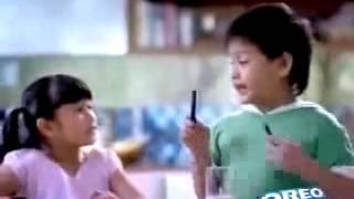 Bánh Oreo quảng cáo cho bé yêu