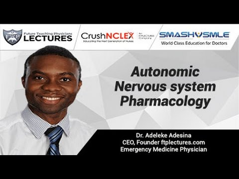 Autonomic Nervous system Pharmacology Music Videos