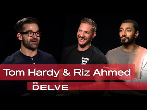 Riz Ahmed and Tom Hardy talk Venom, Narcissism and Why Dogs Are Amazing