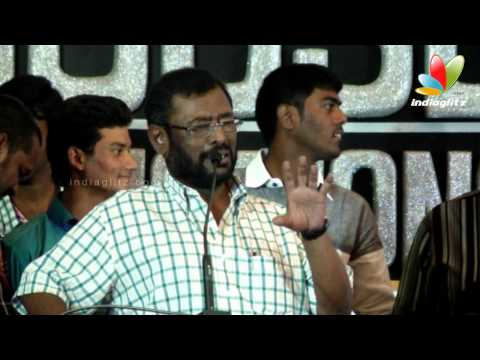 Manivannan talks about seeman & his character in Nagraja Chozhan MA. MLA | Audio Launch