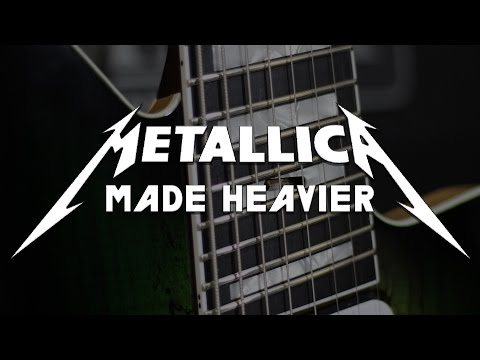 What if Metallica Tuned Down? (8 String Guitar Metallica Compilation)