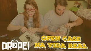 OPEN CASE NA VIDA REAL - DROPEI