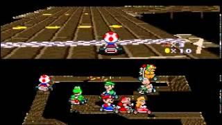 Super Mario Kart Special Cup 150cc - Toad