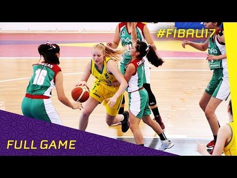 Australia v Mexico - Full Game - 2016 FIBA U17 Women's World Championship